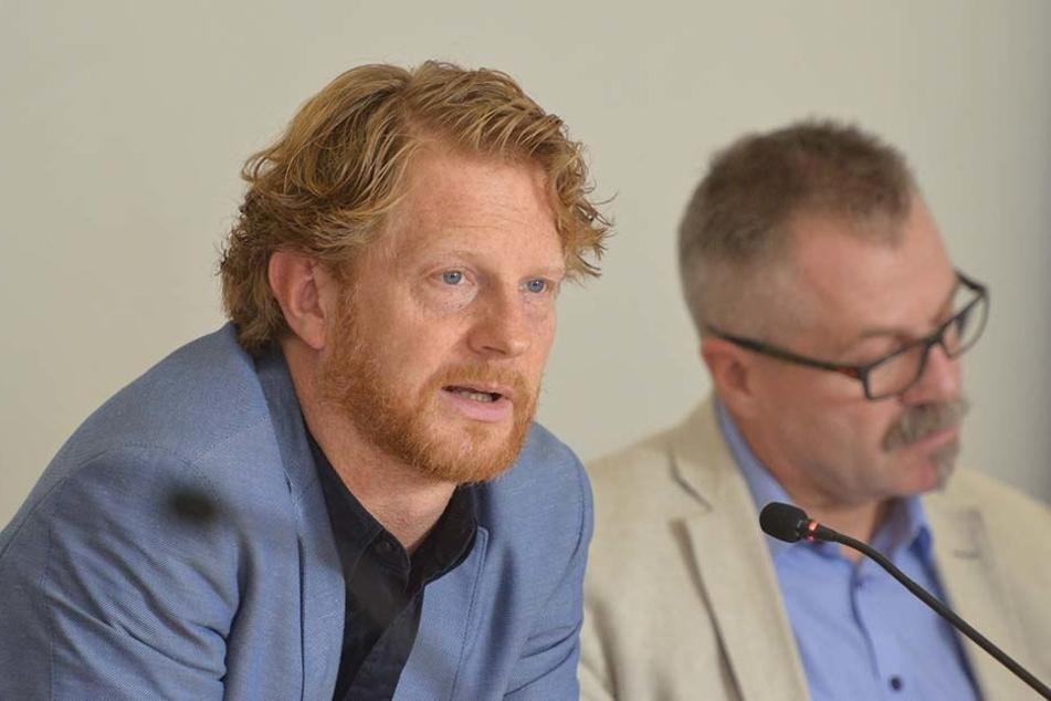 Baubürgermeister Michael Stötzer (45, Grüne) bastelt an den Plänen für die nächste Stufe des Chemnitzer Modells.