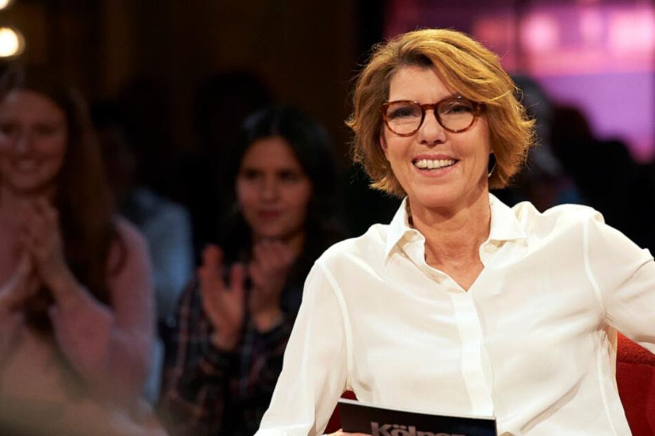 """Bettina Böttinger (62) moderiert am Freitag die 500. Ausgabe der WDR-Sendung """"Kölner Treff""""."""