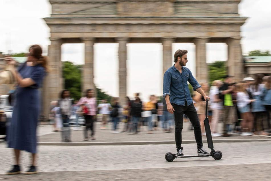 Audi will eine sportliche Alternative zu aktuellen E-Scootern auf den Markt bringen.