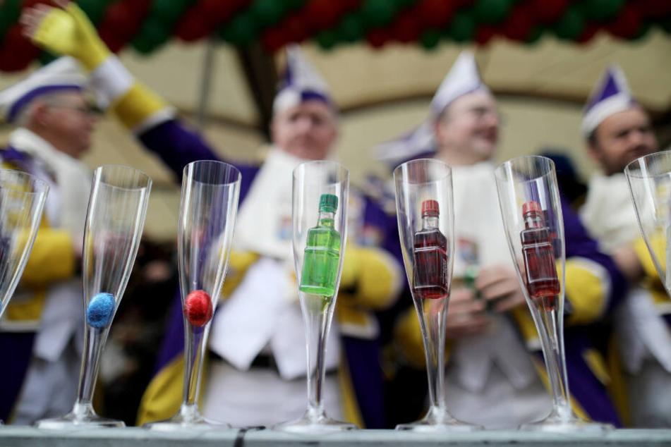 In Köln durften die Karnevalisten weiter feiern.