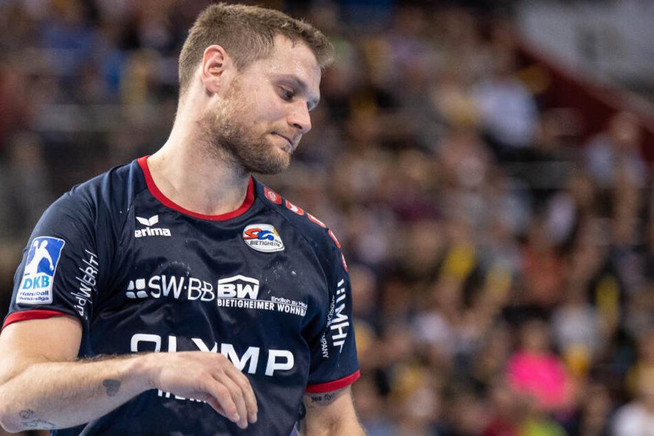 """Michael """"Mimi"""" Kraus spielt seit Februar für den Handball-Zweitligisten SG BBM Bietigheim."""