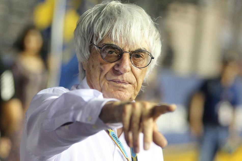 Bernie Ecclestone ist seit den 1970er Jahren Boss der Formel 1 und aus dem Rennzirkus kaum wegzudenken.
