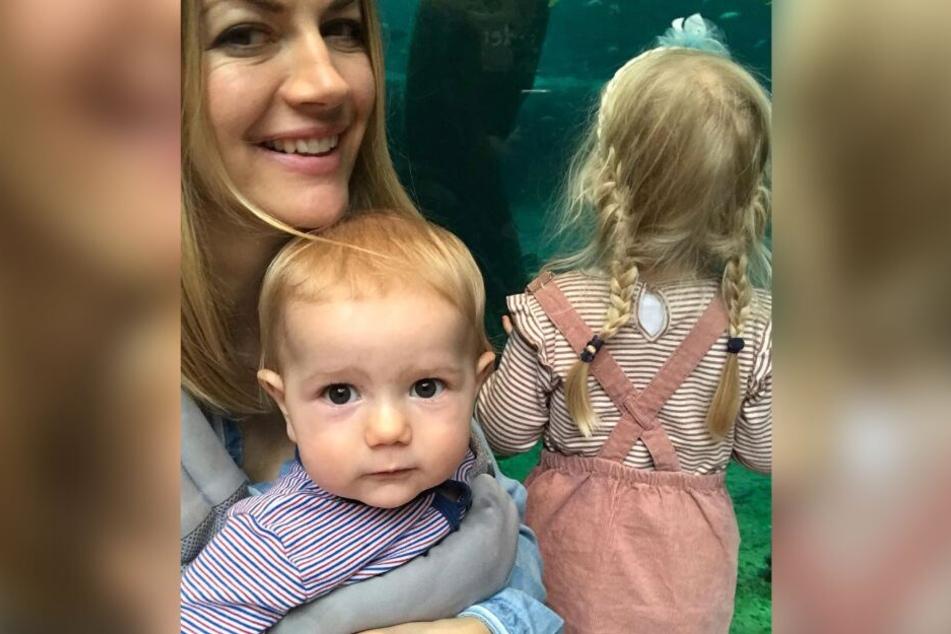 Nina Bott (42) und ihre Kinder bleiben erstmal zuhause.