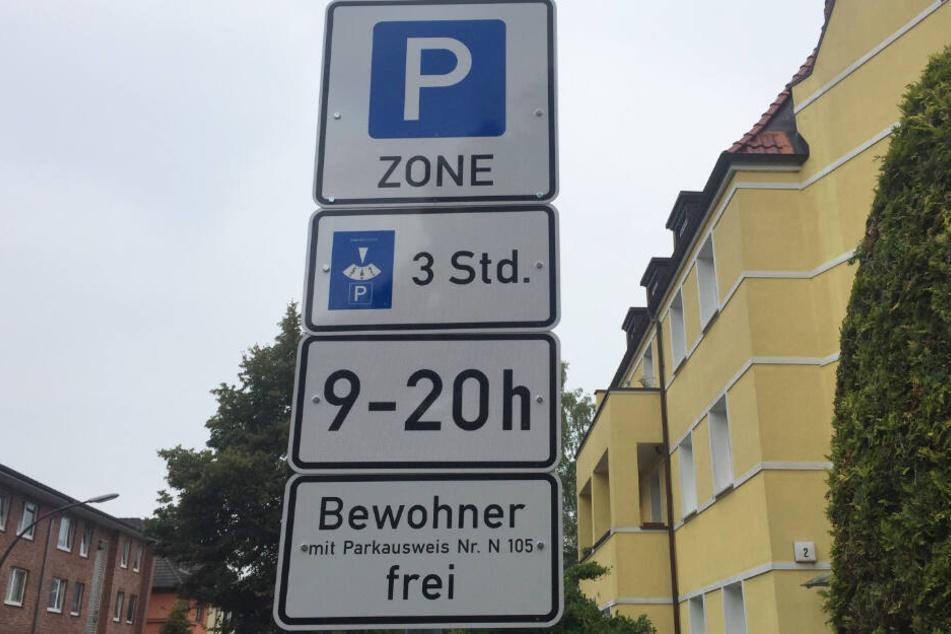 Um den Flughafen in Fuhlsbüttel gibt es seit Kurzem Anwohnerparkzonen.