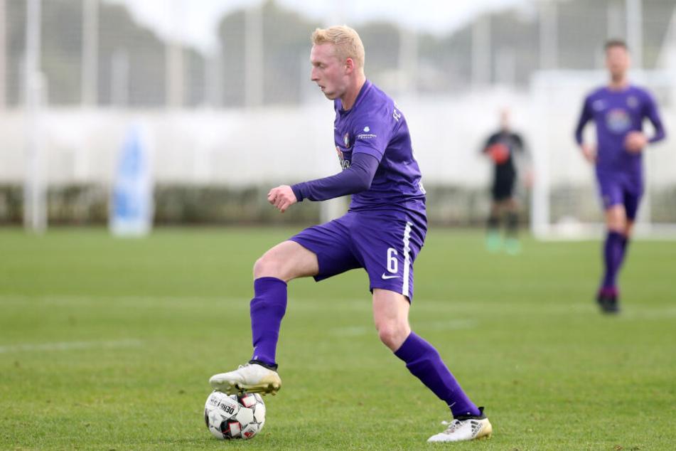 FCE-Rechtsverteidiger Luke Hemmerich spielt bis Saisonende bei Energie Cottbus.