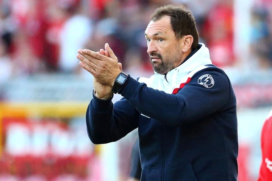 Energie-Trainer Pele Wollitz würde Felix Geisler gern eine zweite Chance in Cottbus geben.