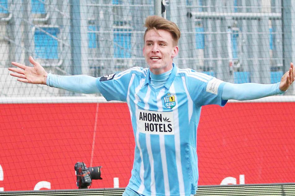 Florian Hansch bleibt bis mindestens 2019 beim CFC.