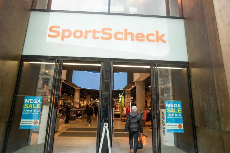 Eine SportScheck-Filiale in München.