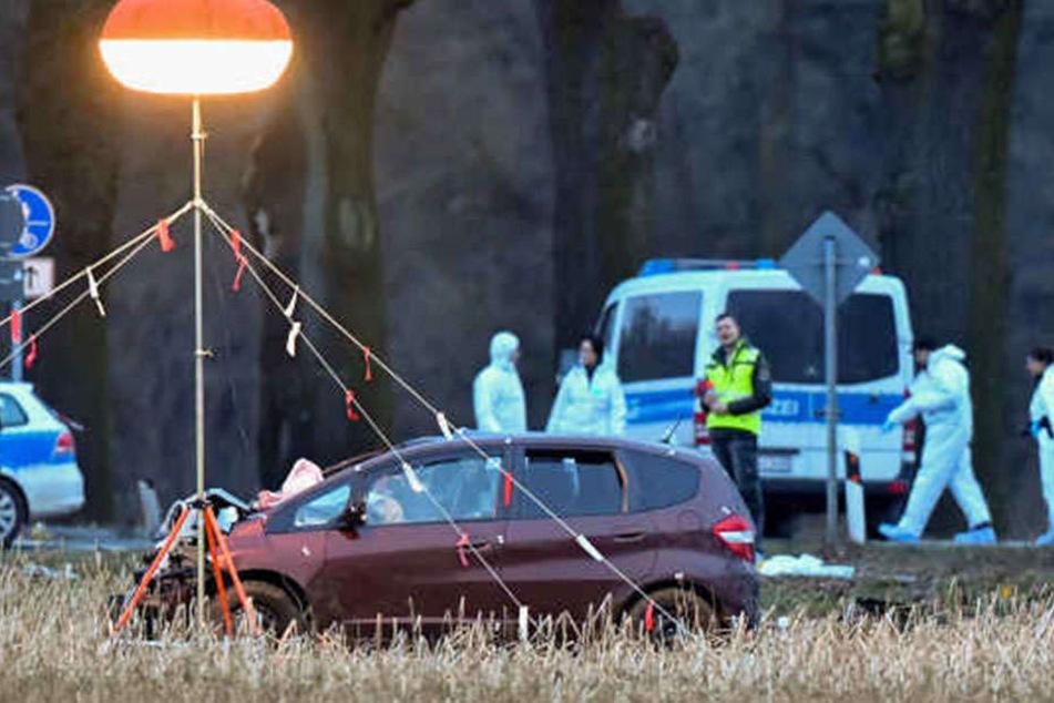 Mit diesem Auto war der 25-Jährige auf der Flucht.