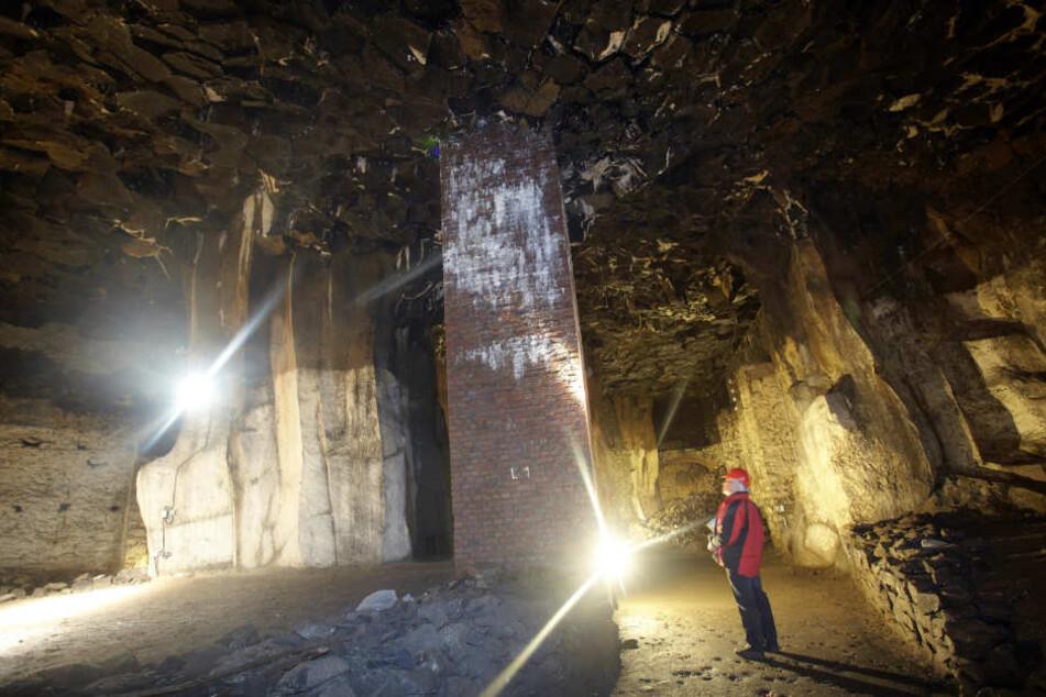 Früher wurde in der Kleinstadt Bergbau betrieben.