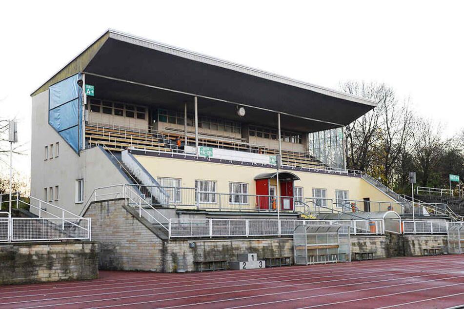 Am Heinz-Steyer-Stadion wird vorerst nicht weitergebaut.