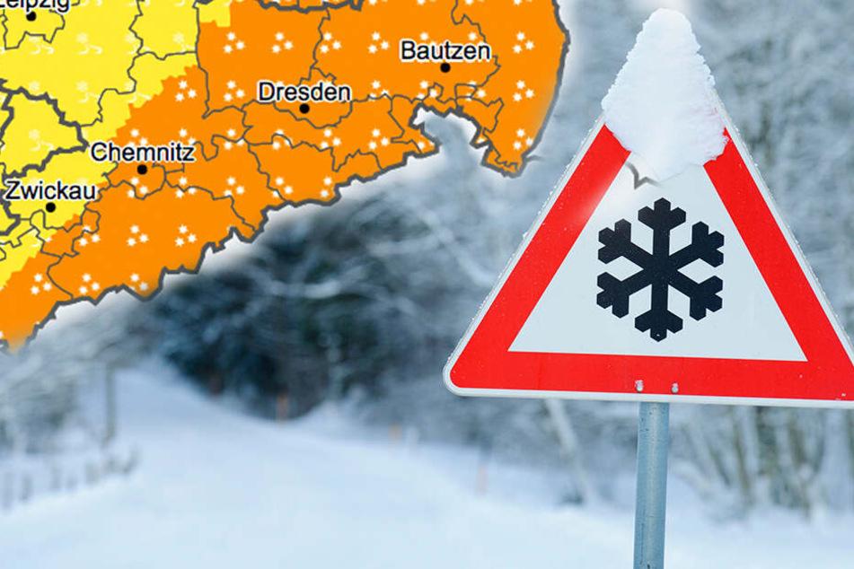 Bis zu 30 Zentimeter! Wetterdienst warnt vor Neuschnee
