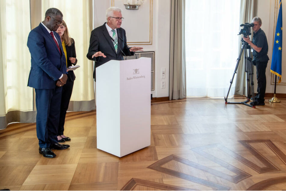 Einsatz gegen sexualisierte Kriegsgewalt: Kretschmann lobt Friedensnobelpreisträger