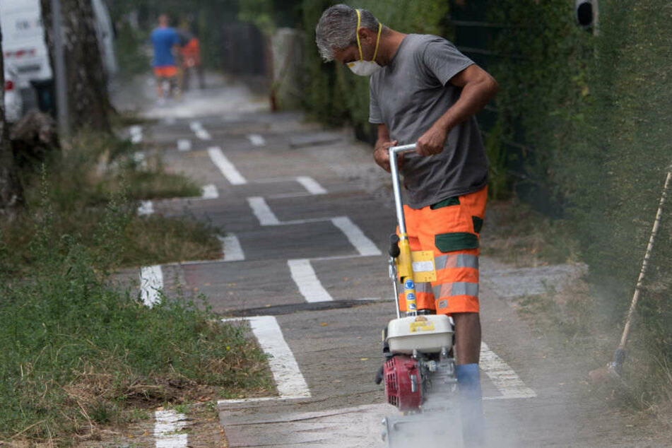 Das war's: Berlins Gaga-Radweg wird beseitigt