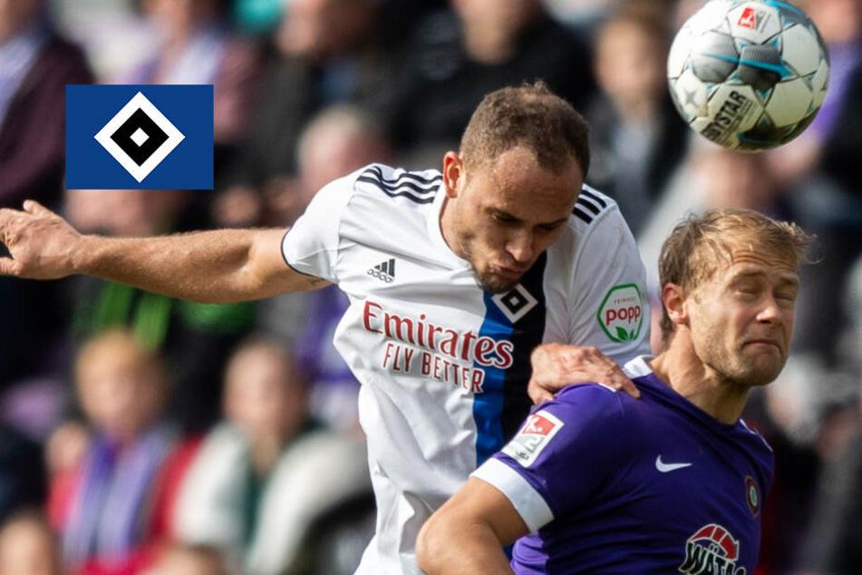 Nach Derby-Pleite: HSV verliert auch gegen Aue