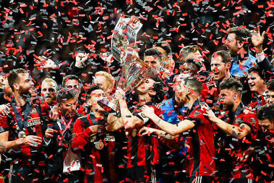 Für die Stadt Atlanta war es der erste sportliche Titel seit 1995.