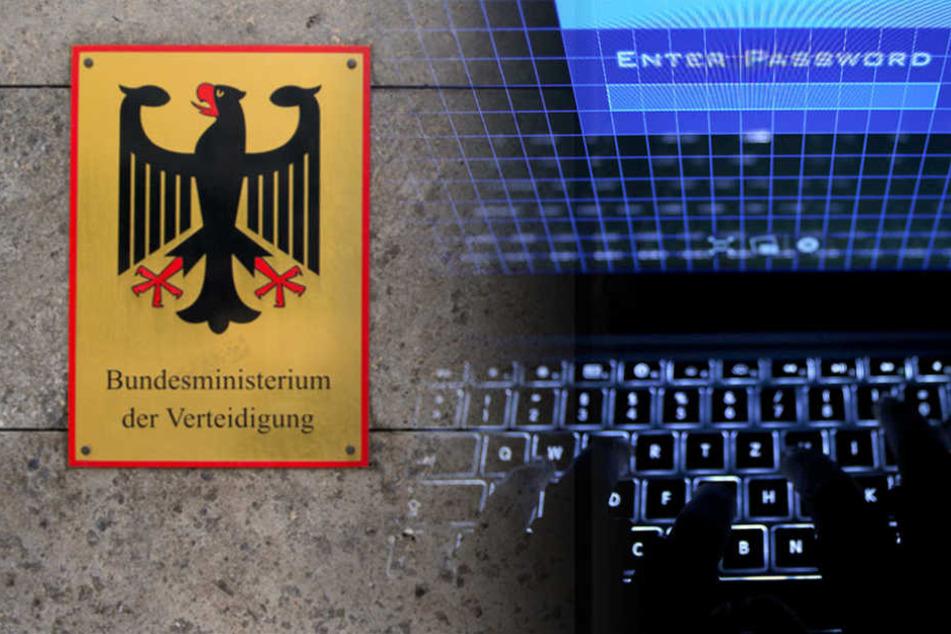 Eigentlich gilt das Datennetz der Bundesverwaltung als besonders sicher. Doch im vergangenen Jahr haben Hacker mit wohl russischem Hintergrund die Schutzmauern überwunden. (Bildmontage)