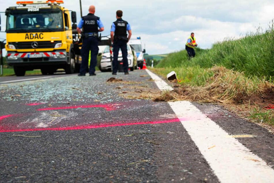 Auf der Verbindungsstraße zwischen Spitzkunnersdorf und Niederoderwitz kam eine VW-Fahrerin mit ihrem Auto von der Fahrbahn ab.