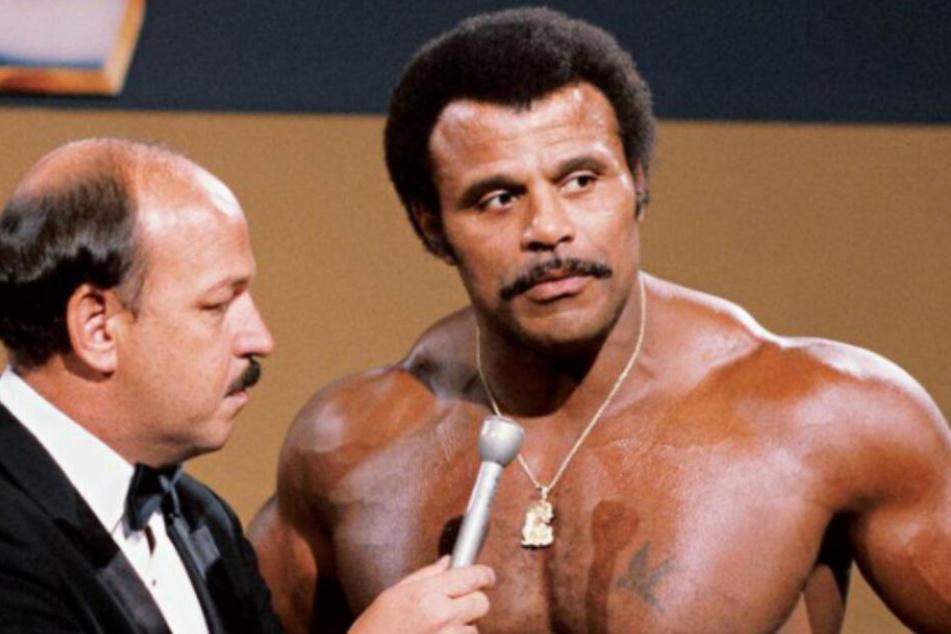 Was für ein Körper! Rocky Johnson war eine Maschine im Ring.