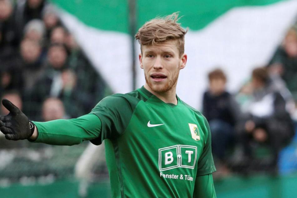 Alexander Bury (26) wechselt nicht wie erwartet zum Chemnitzer FC. Ob er bei Chemie bleibt, ist offen aber eher unwahrscheinlich.