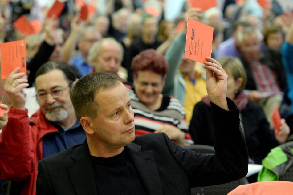 Klaus Lederer, Berlins Vorsitzender der Partei Die Linke.