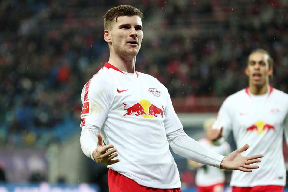 Traf gegen Bremen zum elften Mal in dieser Saison und damit so oft wie nie zuvor in einer Bundesliga-Hinrunde: Timo Werner.