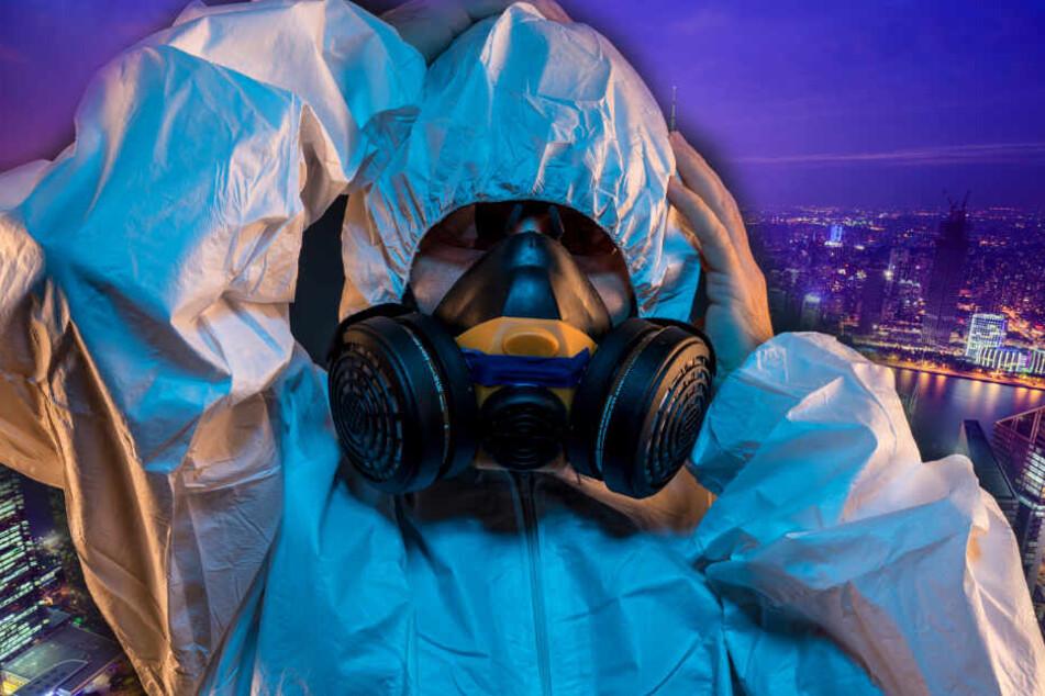 Eine größere Fläche des Landes wurde mit Gift besprüht.
