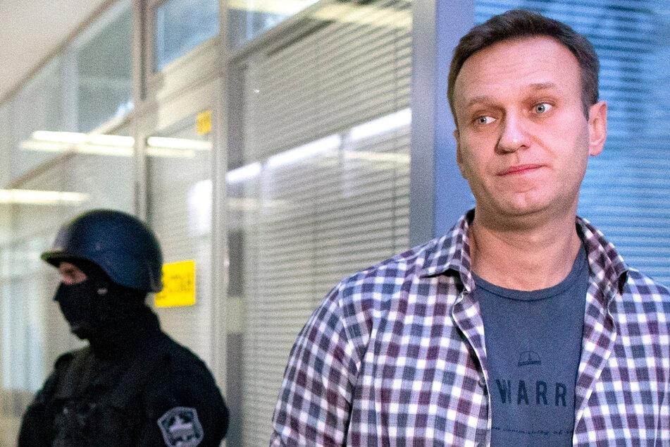 Alexej Nawalny unter Schutz des Bundeskriminalamtes