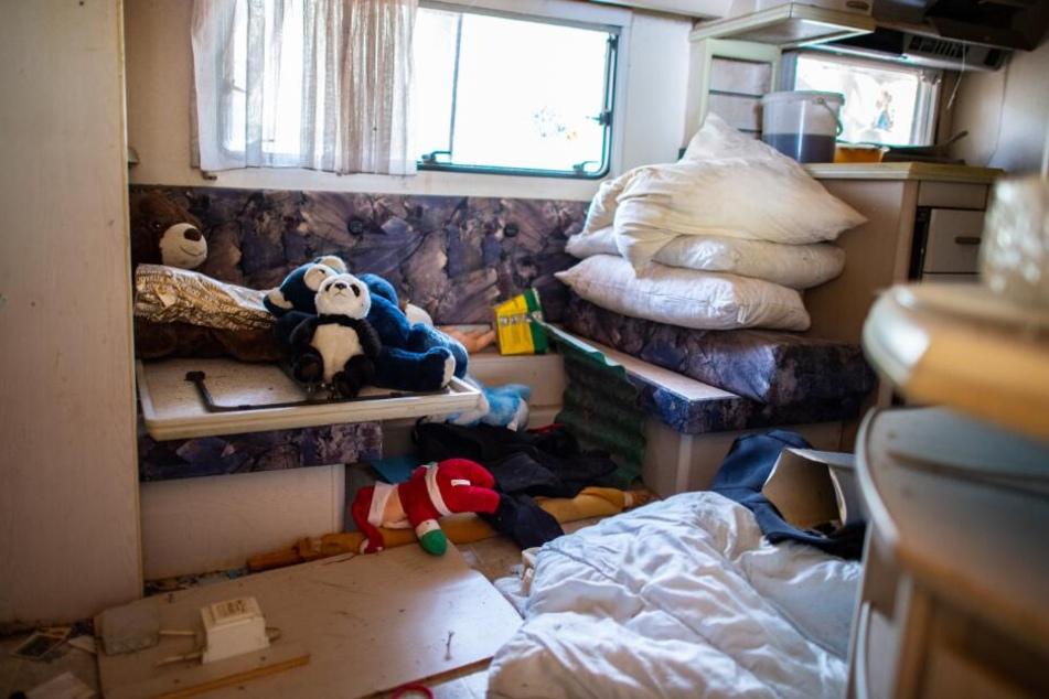 So wohnte einer der mutmaßlichen Täter auf dem Campingplatz.