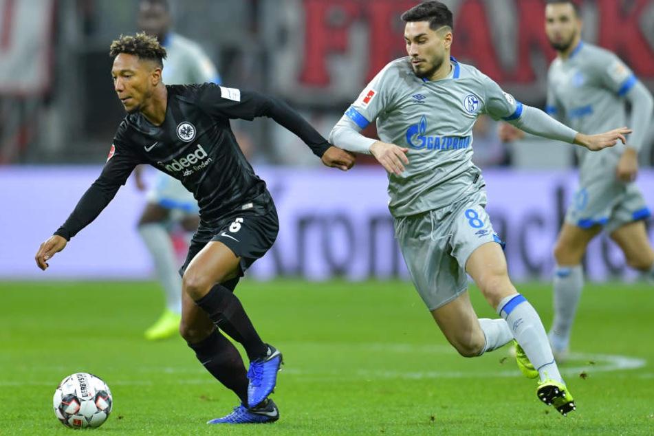 Jonathan de Guzmán (Li.) durfte gegen den FC Schalke 04 wieder von Beginn an ran.
