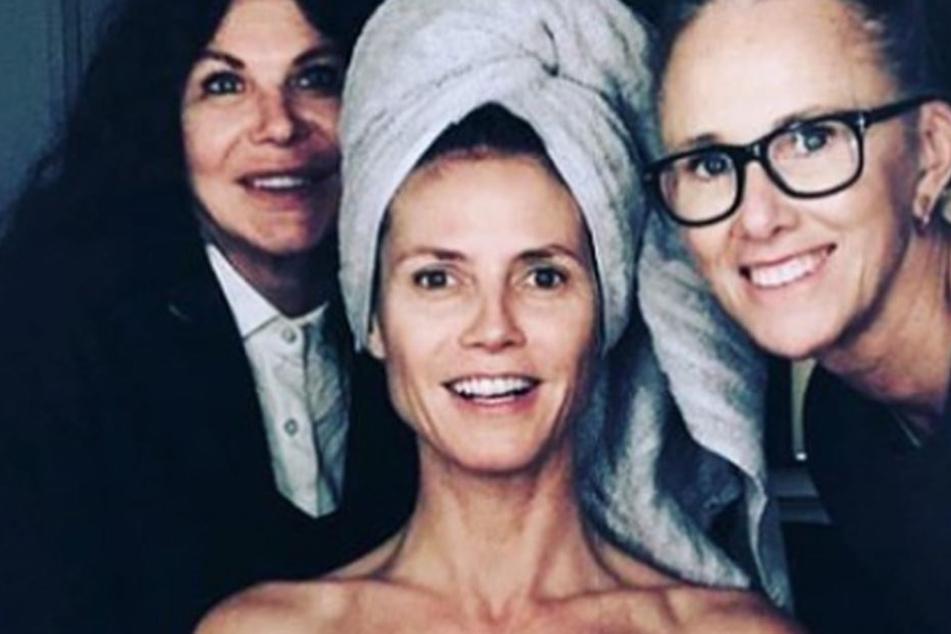Mit diesem Bild schockt Heidi Klum ihre Fans
