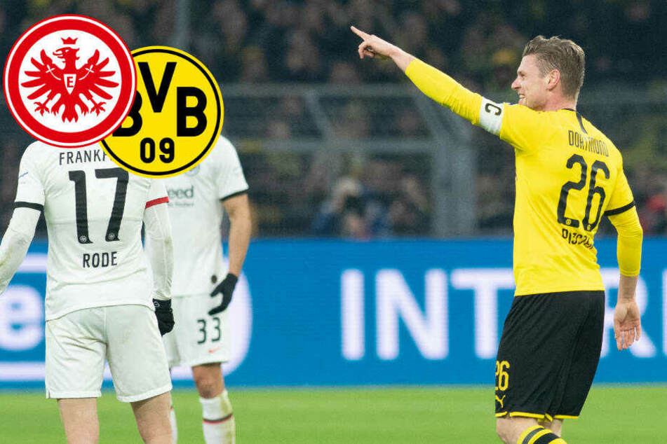 BVB zeigt harmloser Eintracht die Grenzen auf