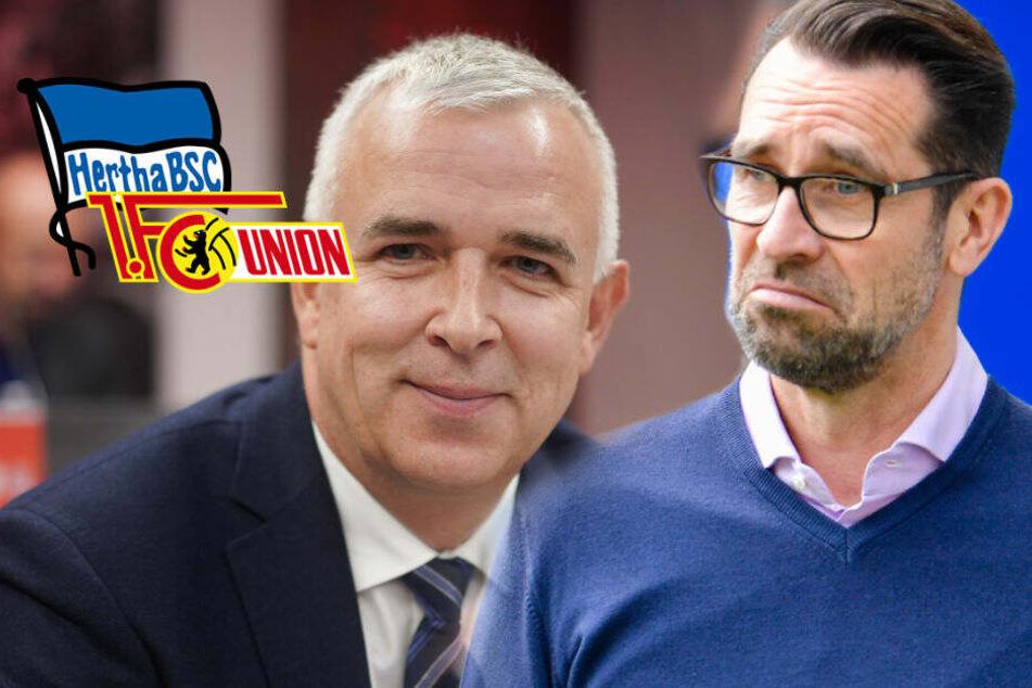 Wegen Stadtderby: Hertha-Manager Preetz kritisiert Union-Boss Ziegler