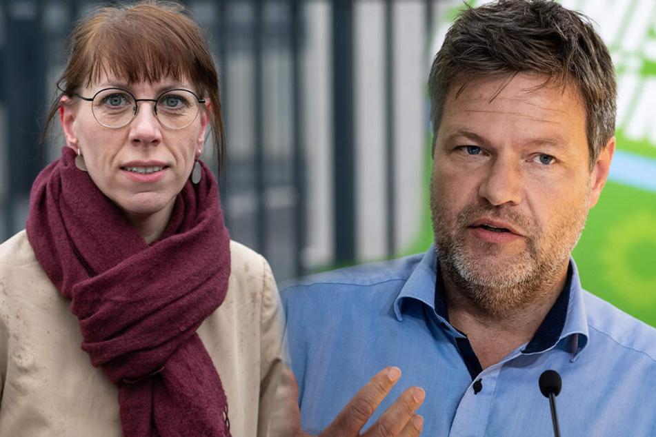"""Grünen-Chef Habeck streichelt Ost-Seele: """"Bleibt so und locht am 1. September ein"""""""