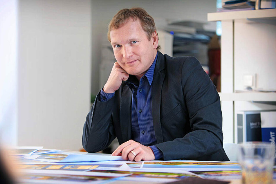 """Jens Zander (46) ist Archtekt und Mitglied der Initiative """"Allianz für Dresden."""""""