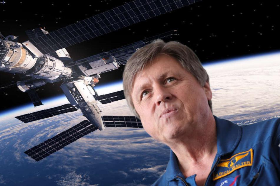 Ex-Astronaut Ulrich Walter (64) hat Tipps für seinen Kollegen.