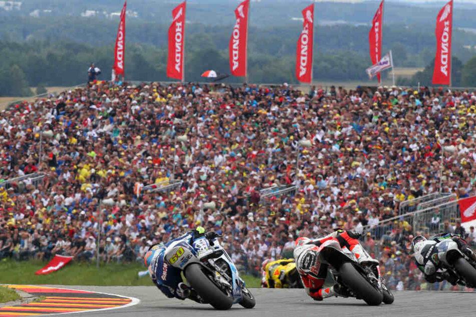 Der MotoGP am Sachsenring hat sich zu einem Großevent entwickelt, bei dem die Besucher Millionenbeträge in der Region lassen.