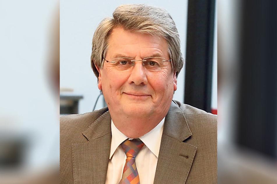 Tristan Drechsel ist Chef der Fraktion Bürger für Zwickau/Grüne im Stadtrat.