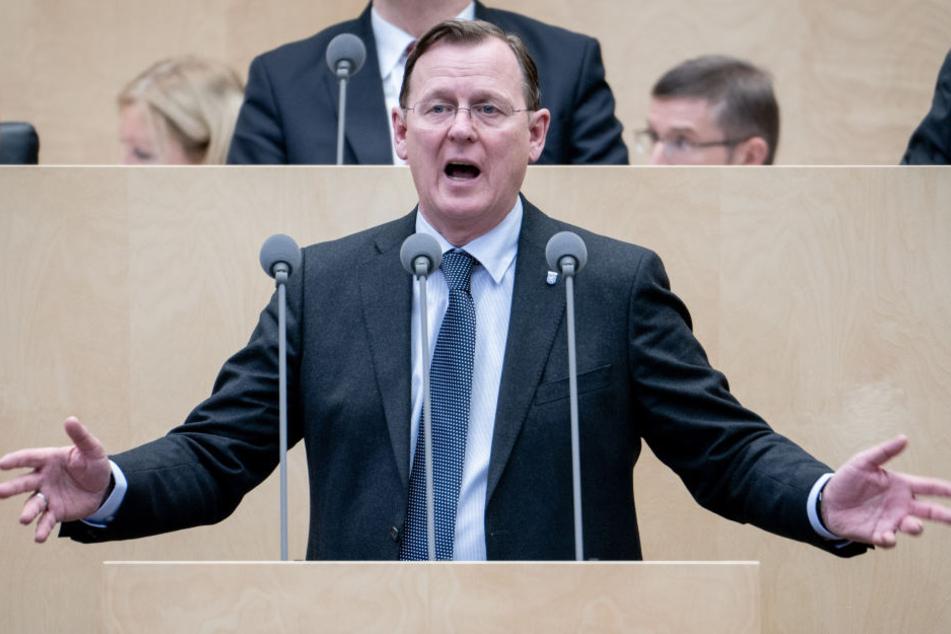 Bodo Ramelow übernahm im Dezember den Vorsitz der Konferenz der Ost-Minister.