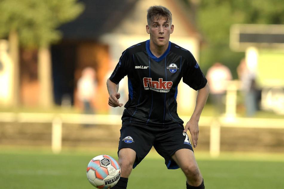 Semir Saric kam im Sommer 2013 vom Hombrucher SV an die Pader.