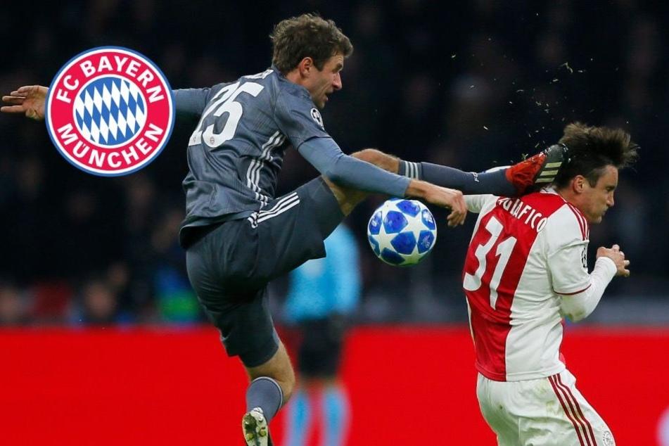 Nach Platzverweis: Das sagt Bayern-Star Müller zu seinem heftigen Kung-Fu-Foul