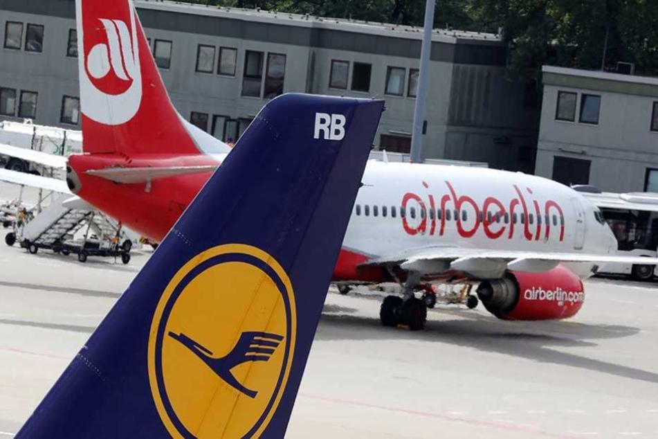 Air Berlin fliegt nicht mehr und damit werden auch weniger Passagiere gezählt.