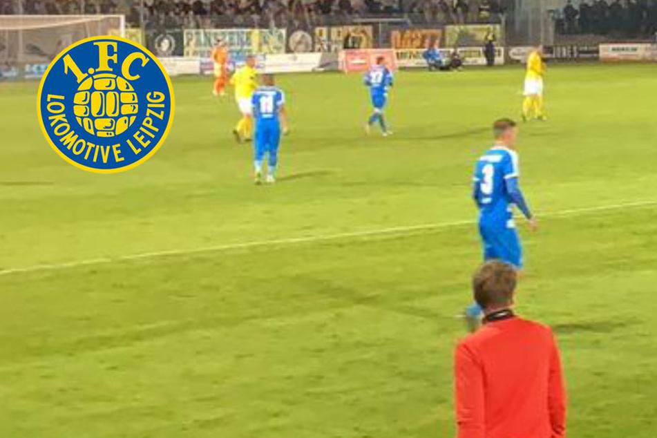 Zwei Elfer, kein Sieger! Lok Leipzig trotz 60 Minuten Überzahl nur 1:1