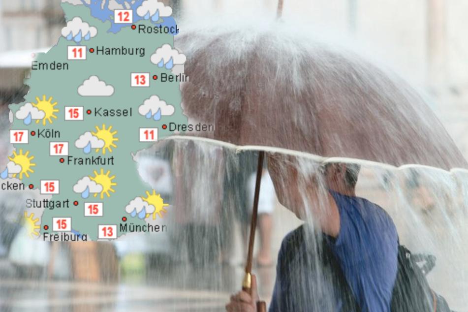Sorry, Jungs! Dieses Grusel-Wetter erwartet Deutschland am Männertag