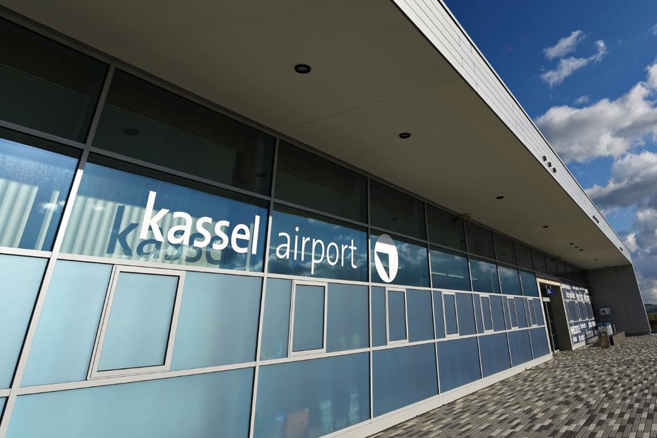 Das Terminal des Kassel Airports – die Corona-Krise hat die Zahl der Fluggäste stark einbrechen lassen.
