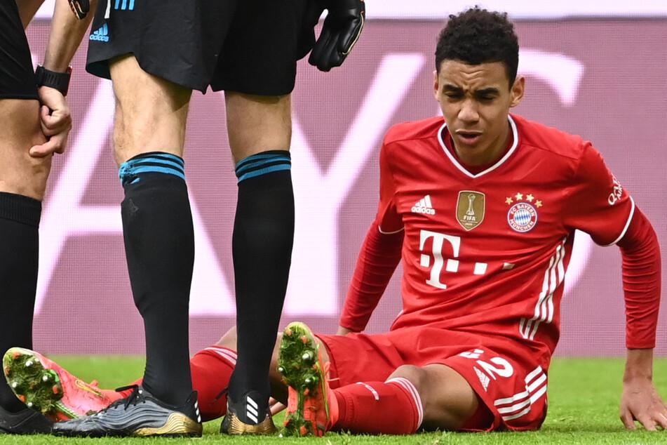 Jamal Musiala (18) vom FC Bayern München soll nach Medienberichten das Training am Montag angeschlagen abgebrochen haben. (Archivbild)