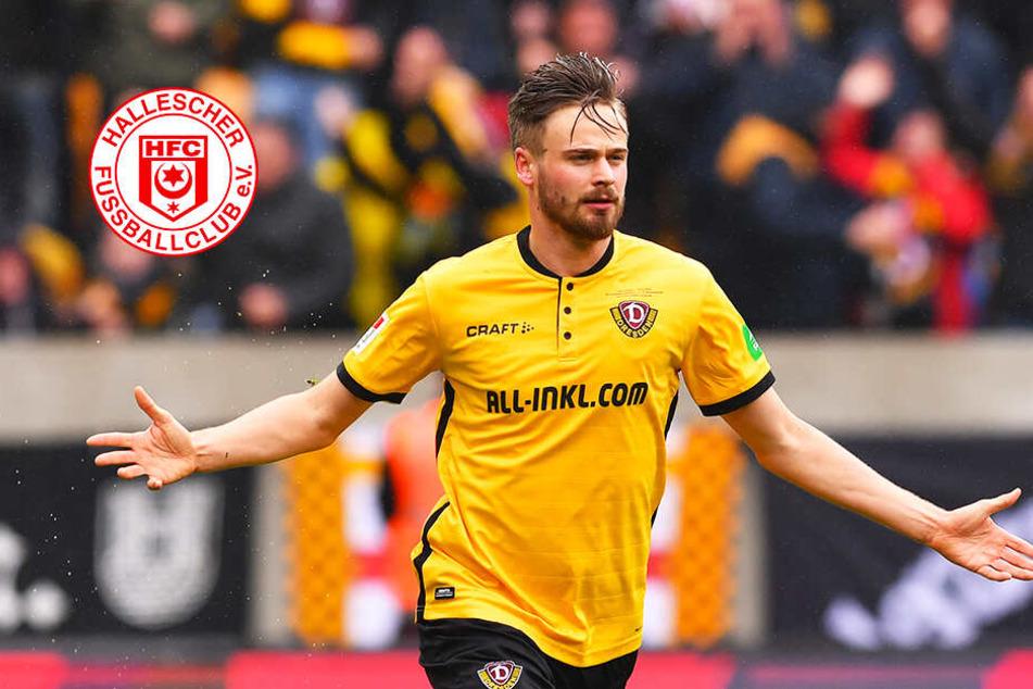 Leistungsträger verlassen den HFC! Kommt Röser von Dynamo nach Halle?