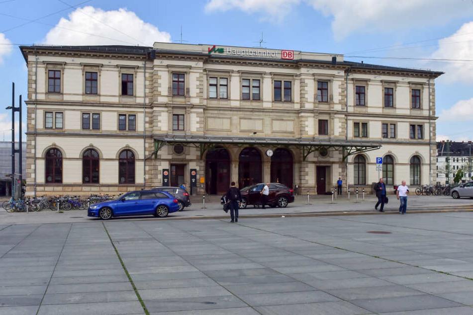 Der Vorfall passierte am Dienstagmorgen am Chemnitzer Hauptbahnhof.