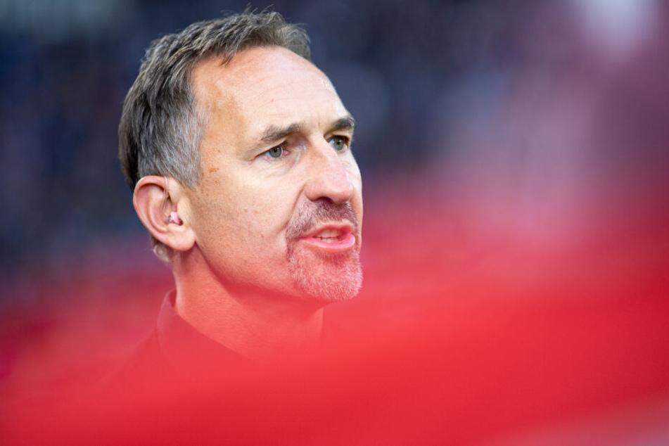 FC-Coach Achim Beierlorzer ließ gegen Viktoria Köln einige Talente vorspielen.