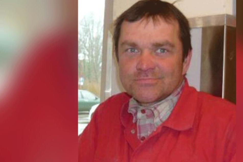 Die Polizei sucht mit diesem Foto nach dem vermissten Andreas Nischke (50).